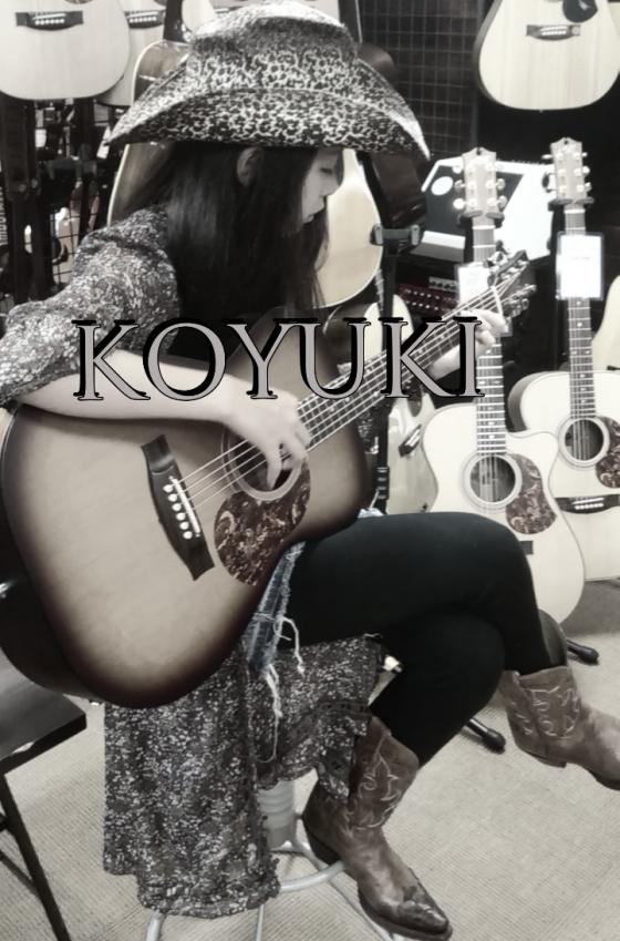 Fingerstyle Guitargirl KOYUKI