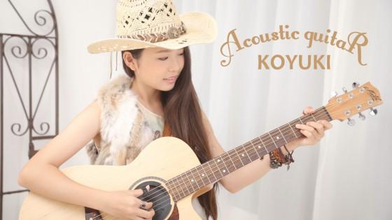 FINGERSTYLE GUITAR GIRL KOYUKI